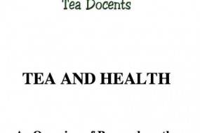 Tea and Health Handbook